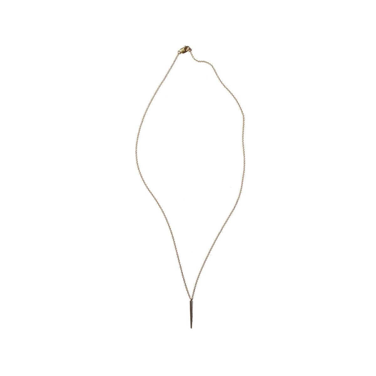 Petite Telson Drop Necklace Yellow Gold