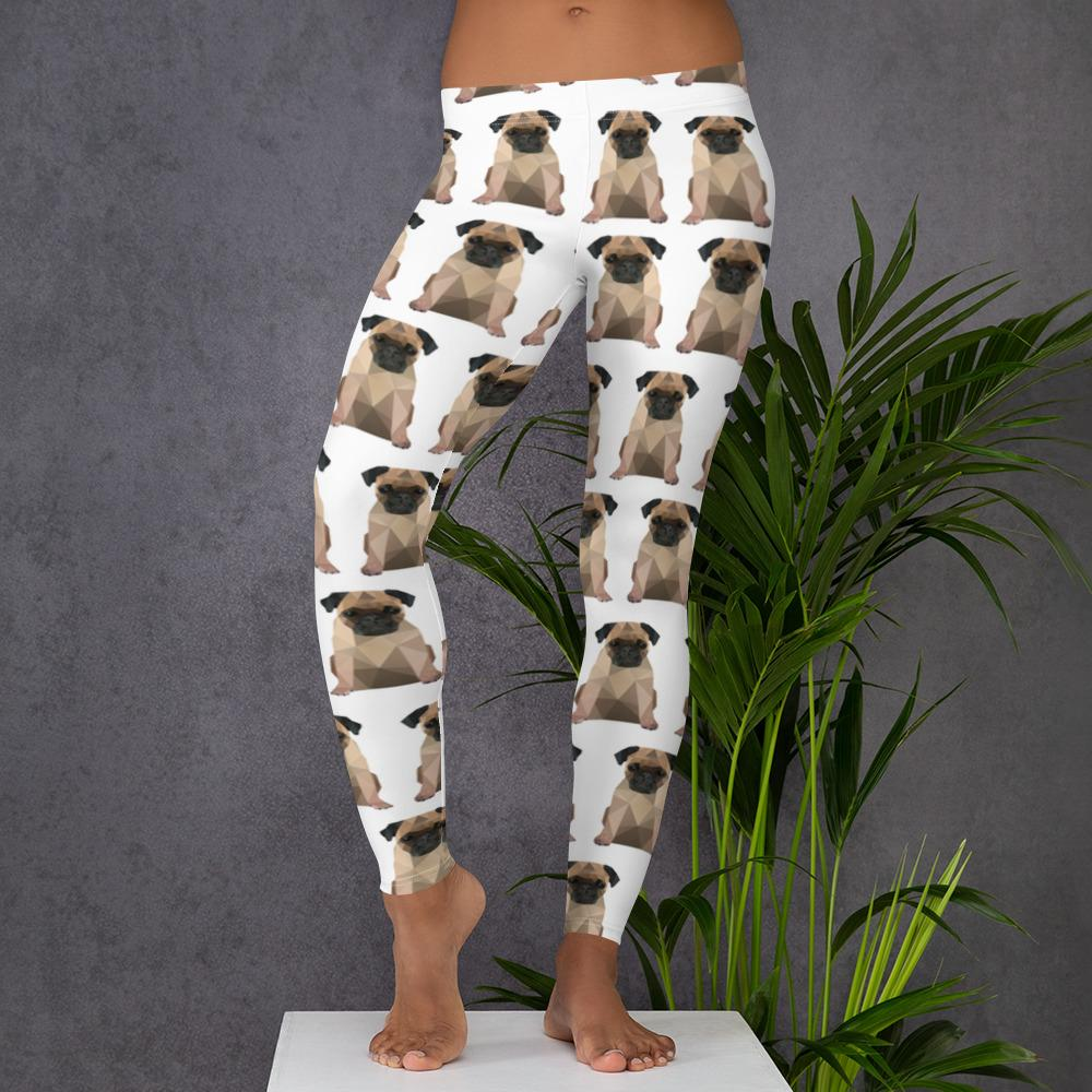 PUG WORKOUT LEGGINGS - Animal Spandex