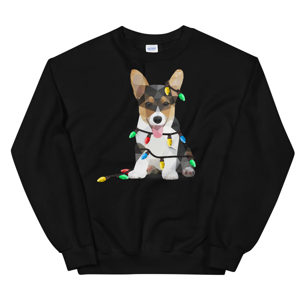 CORGI CHRISTMAS HOLIDAY UNISEX SWEATSHIRT - Animal Spandex