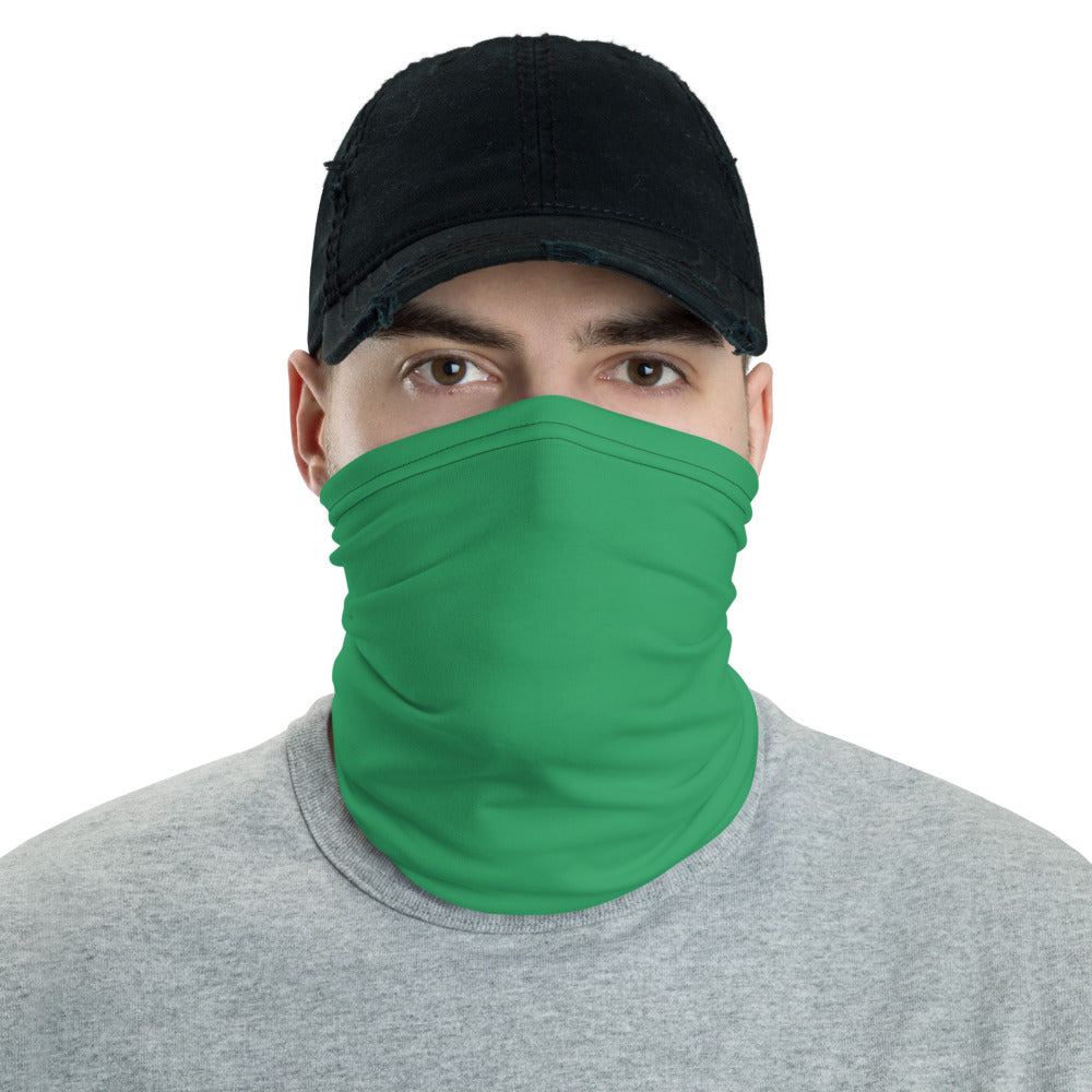 Green Neck gaiter - Animal Spandex
