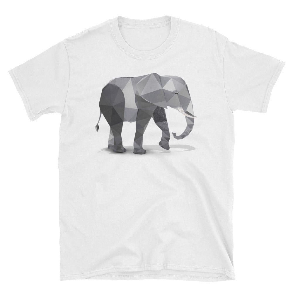 Unisex African Elephant T-Shirt - Animal Spandex