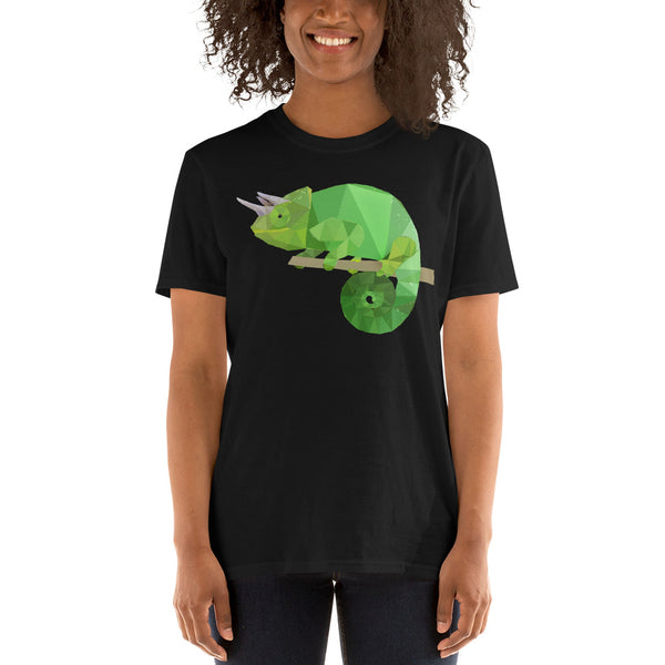 Unisex Jackson Horned Chameleon T-Shirt - Animal Spandex