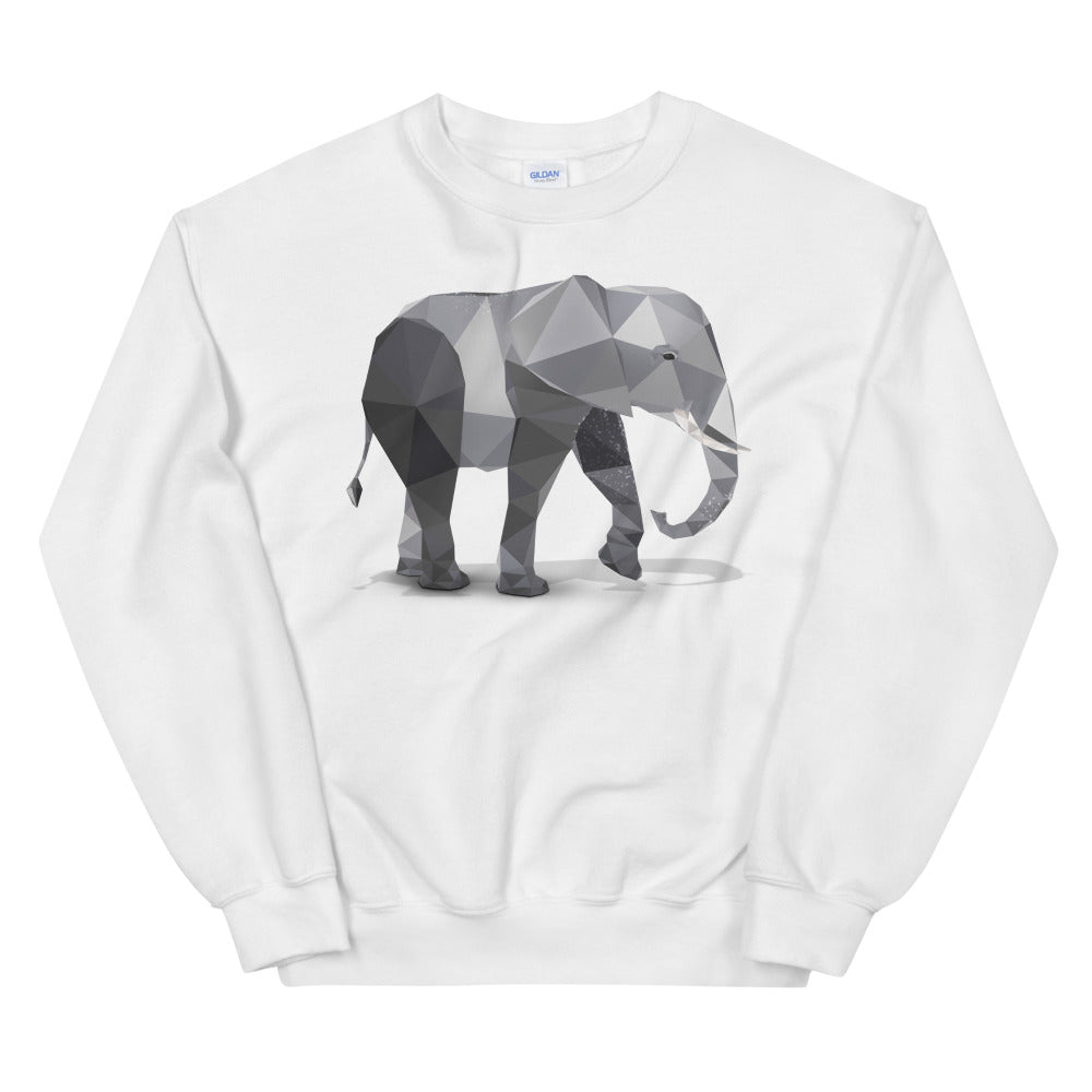 Elephant Long-sleeve Sweatshirt - Animal Spandex