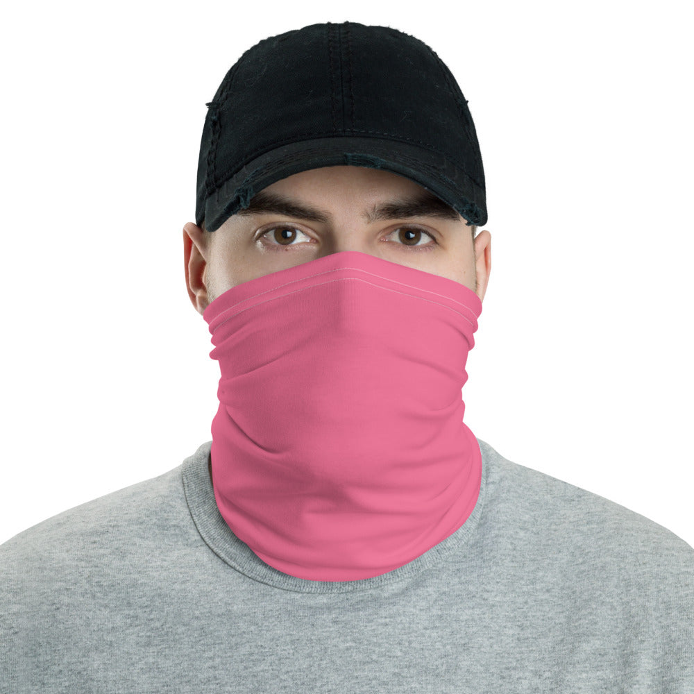 Pink Neck gaiter - Animal Spandex