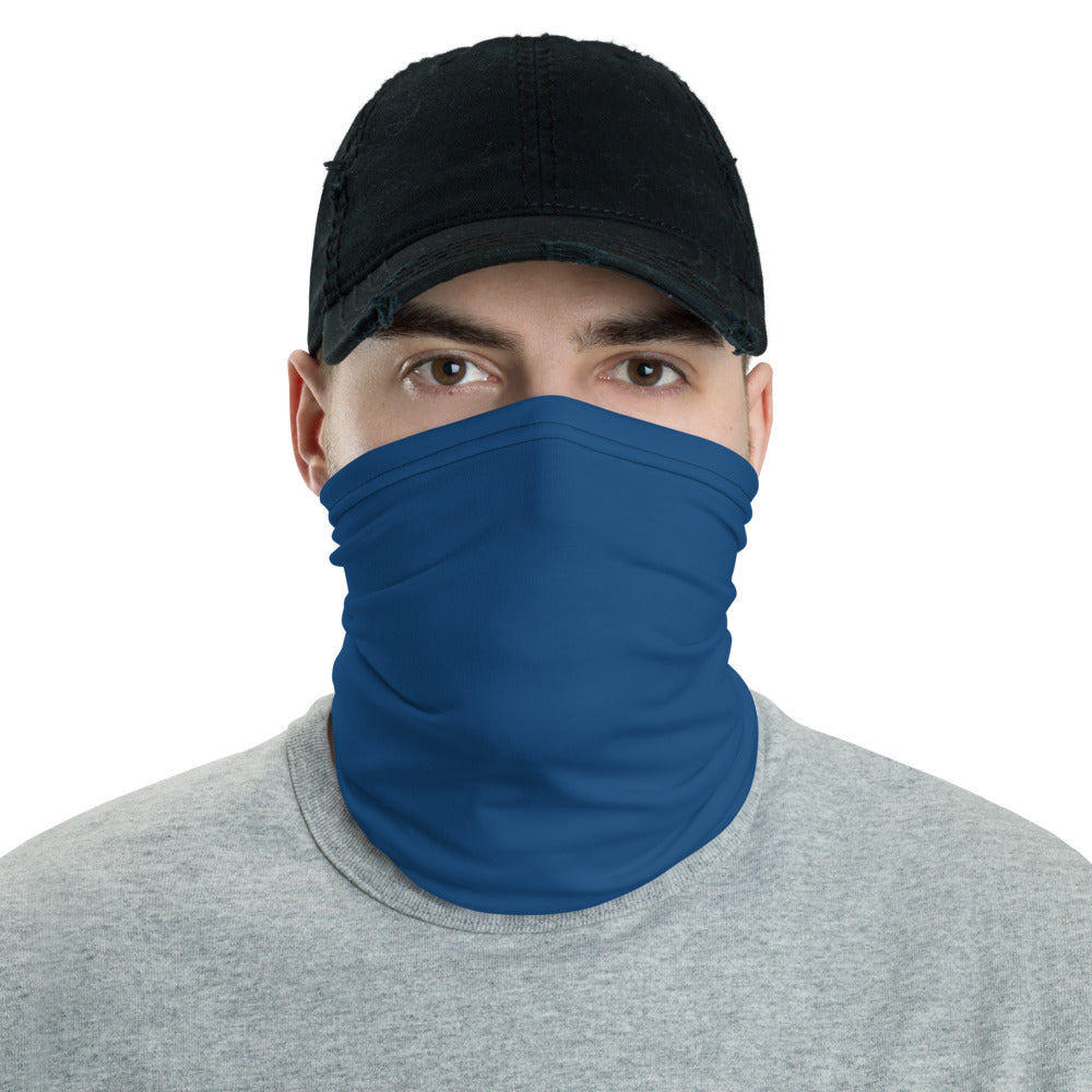 Navy Blue Neck gaiter - Animal Spandex