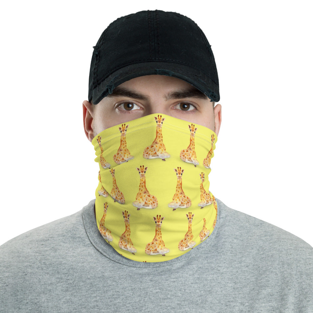 Animal Face Mask Neck Shield Gaitor Bandana ∙ For Adult Men & Women ∙ Animal Elephant Giraffe Frog Whale Dog - Animal Spandex
