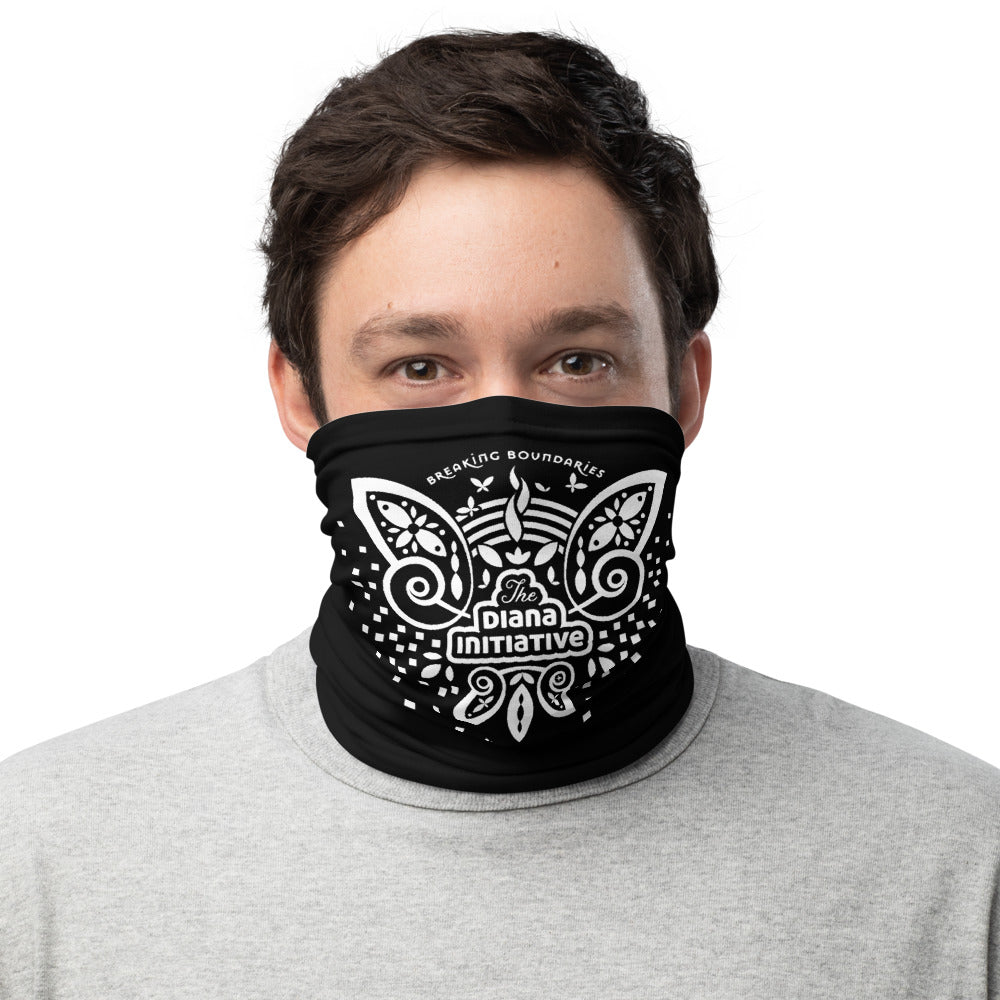 Diana Initiative Face Mask Gaitor Bandana ∙ For Women and Men ∙ Top Front Or Patterned Black Mask - Animal Spandex