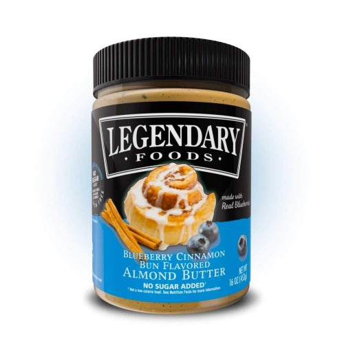 Legendary Almond Butter - Prep'd Tulsa