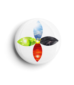 "All Season Gospel Button (사계절 복음 버튼) 1.75"" (4.5cm)"