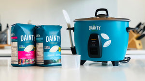 Dainty Rice Cooker with 2 Packs