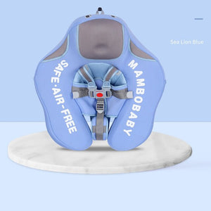 Open image in slideshow, Mambo™ Baby Airless Float Ring With UPF50 + Canopy (2020 Deluxe Edition Swim-Trainer)
