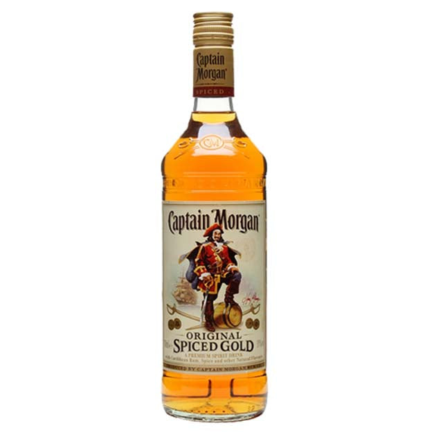 Captain Morgan Spiced Gold Rum 1 Litre