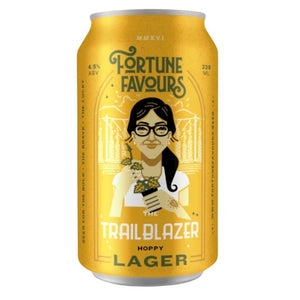 Fortune Favours The Trailblazer Lager 6 x 330ml Cans