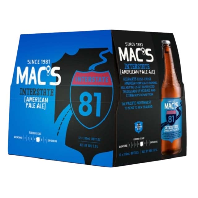 Macs Interstate APA 12 x 330ml Bottles