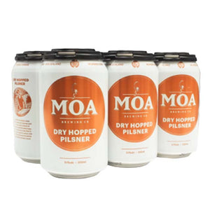 Moa Dry Hopped Pilsner 6 x 330ml Cans