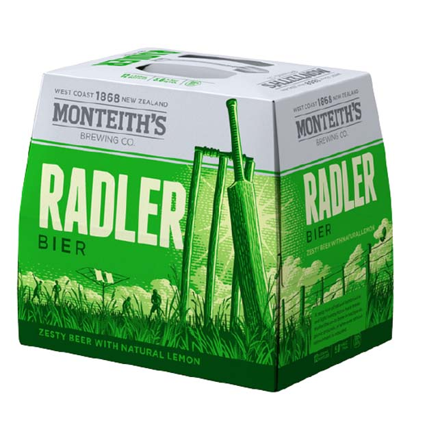 Monteiths Radler 12 x 330ml Bottles