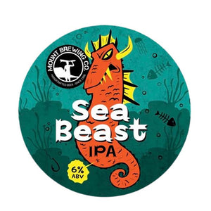 Mount Brewing Co. Sea Beast IPA 6 x 330ml Cans