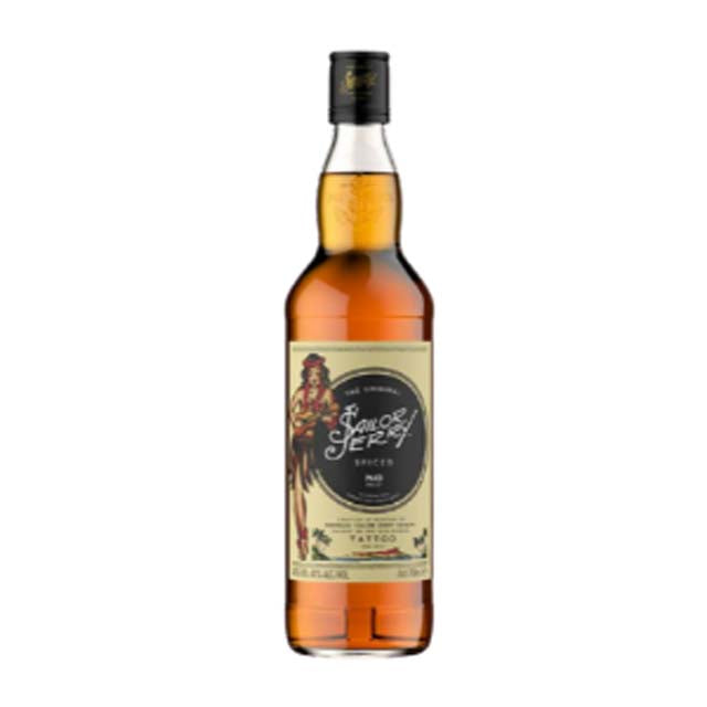 Sailor Jerry Spiced Rum 700ml