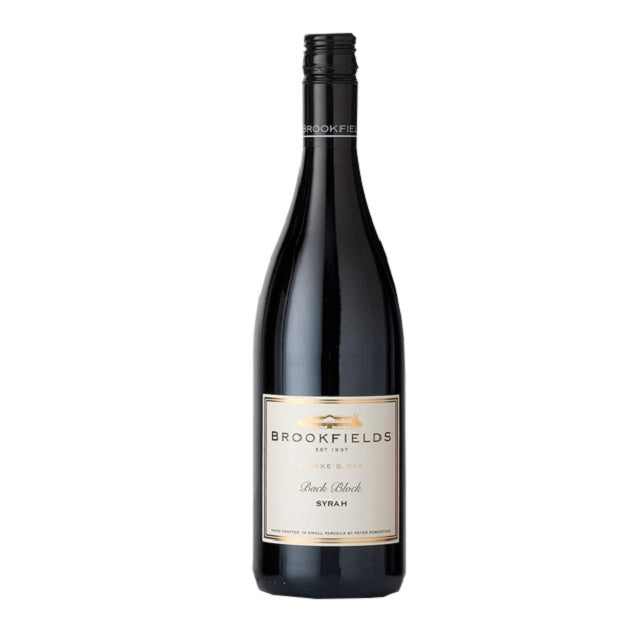 Brookfields Back Block Syrah 2019 750ml