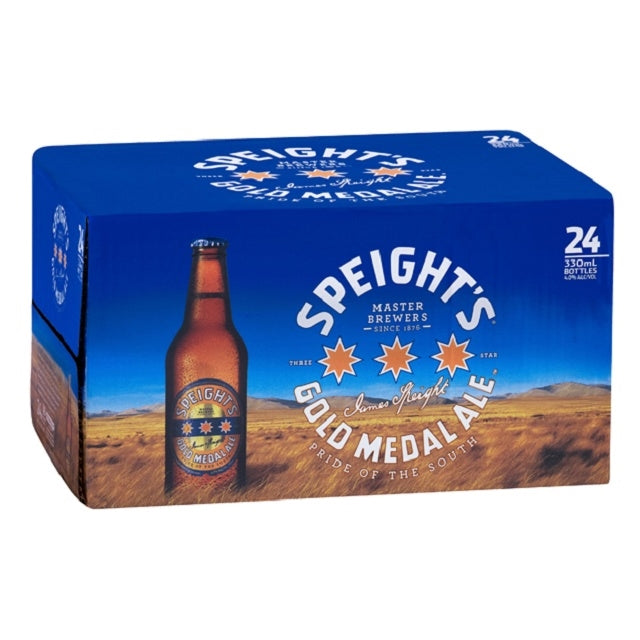 Speight's Gold Medal Ale 24 x 330ml Bottles