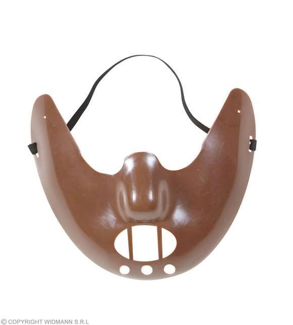 Masque cannibale halloween adulte