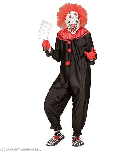 Costume adulte clown tueur