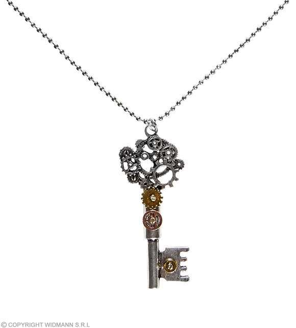 Collier clé Fantastique / Steampunk