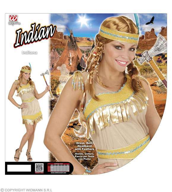 Costume d'indienne