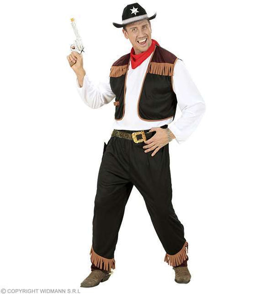 Costume adulte cow-boy Small