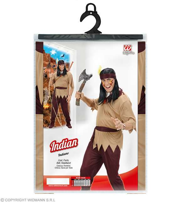 Costume adulte indien