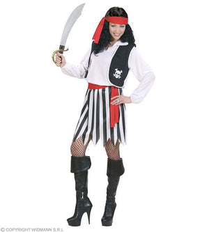 Costume adulte femme pirate