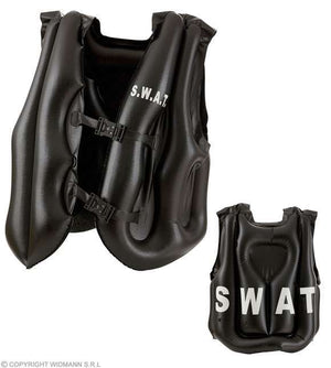 Gilet pare balles gonflable SWAT adulte
