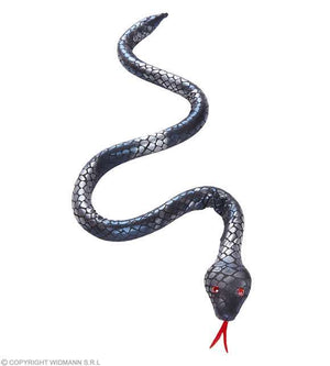 Serpent argenté flexible 100 cm