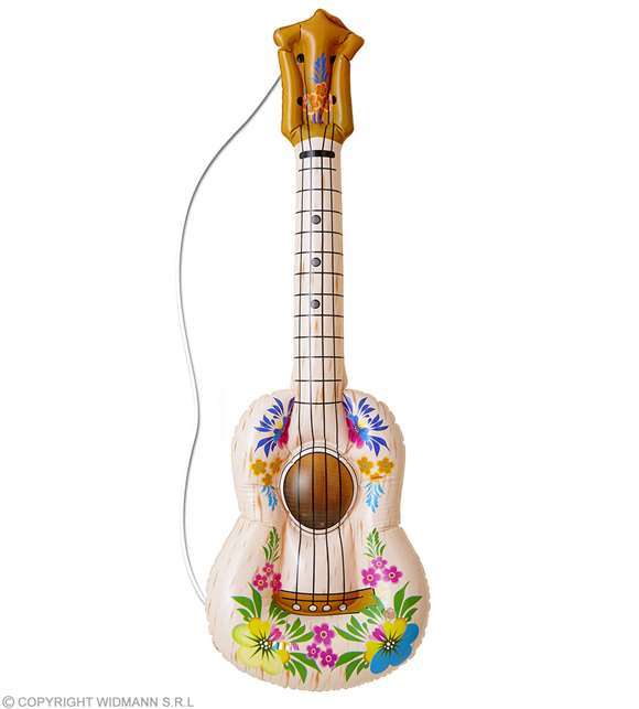 Guitare gonflable Hawai 105 cm