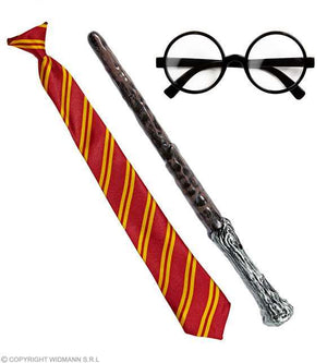 "Kit ""apprenti magicien"" Harry P. - 3 pcs"