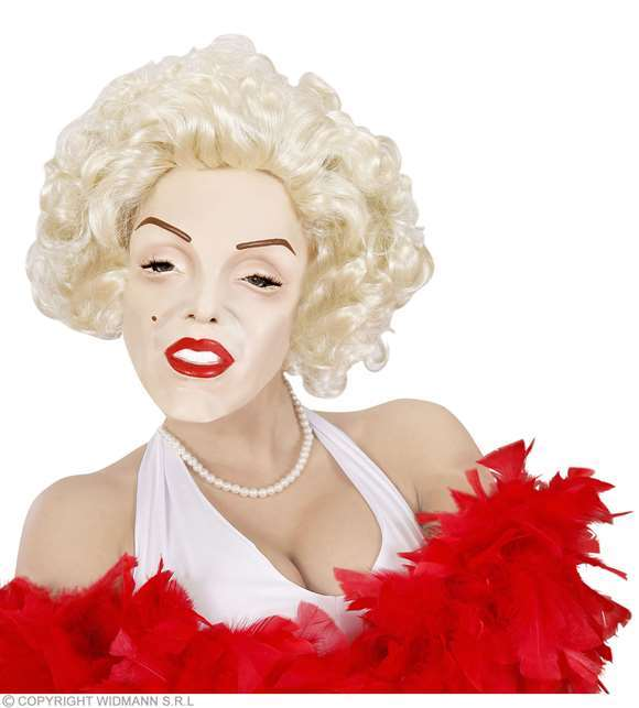 Masque en mousse Marilyn