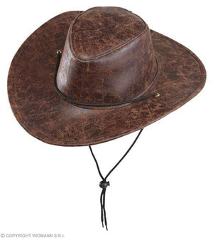 Chapeau de cow-boy en simili-cuir