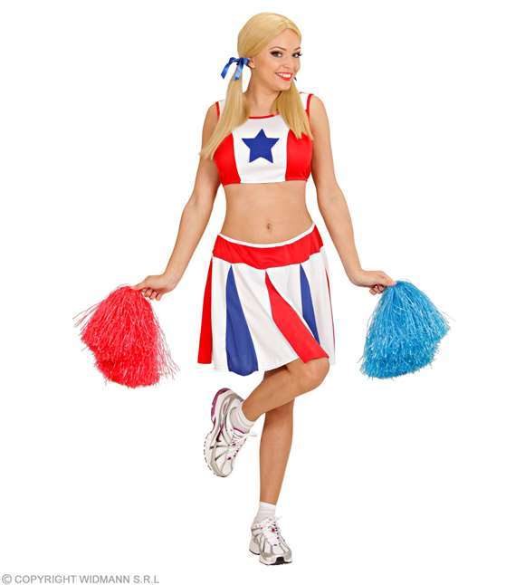 Costume adulte pom-pom girl