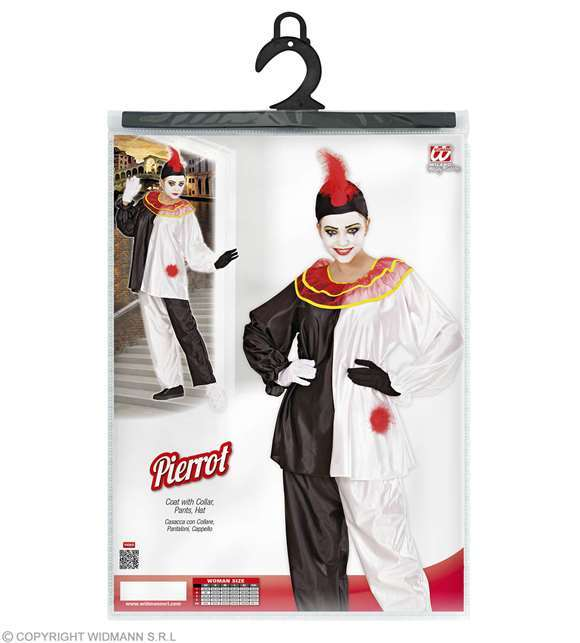Costume adulte Pierrot