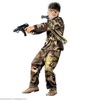 Costume enfant soldat Special Force