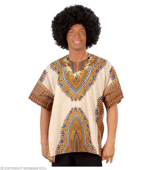 Chemise africaine adulte Taille Unique