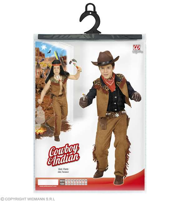 Costume Cow Boy & Indien enfant