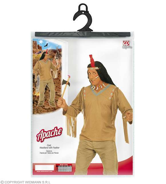 Costume adulte indien apache