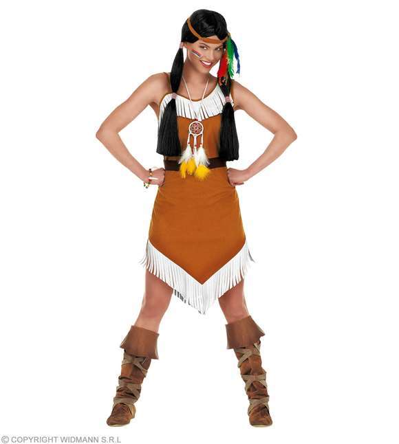 Costume adulte indienne comanche