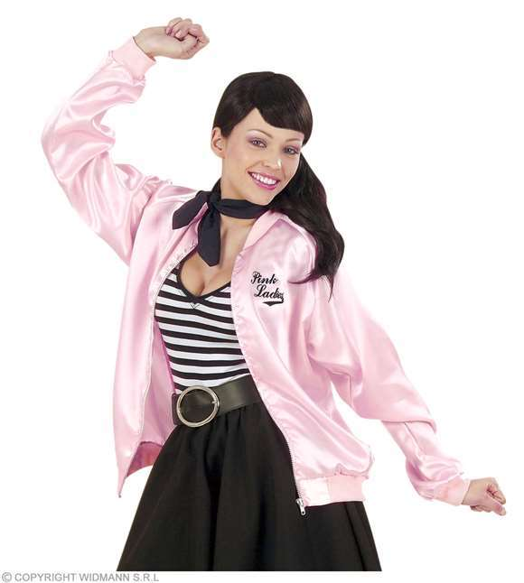 Costume adulte veste pink ladies