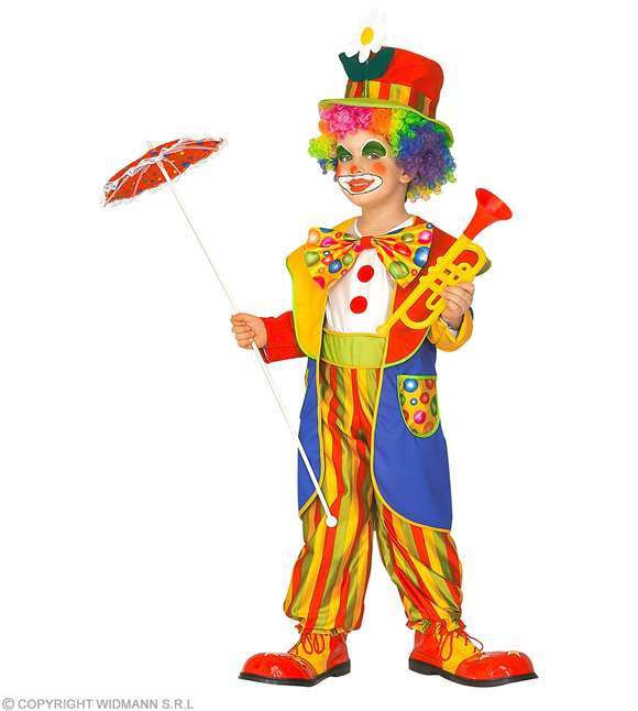 Costume enfant clown