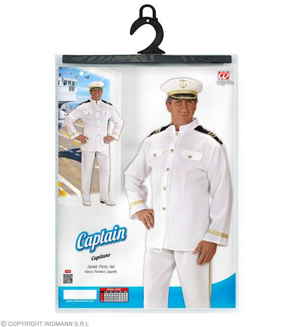 Costume adulte capitaine de la marine