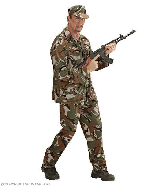 Costume adulte soldat GI Joe