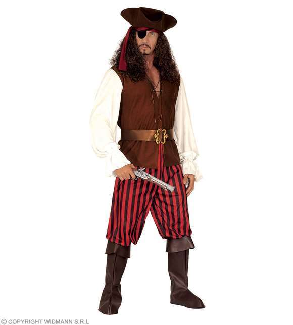 Costume adulte pirate