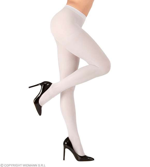 Collants blancs 40 deniers